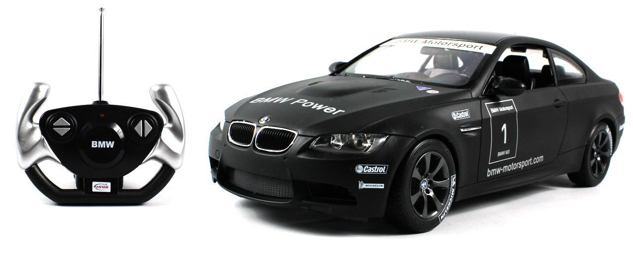 Licensed BMW Motorsport M3 E92 GT4 Electric RC Car Race Edition 1:14 Scale Ready To Run RTR (Colors May Vary) Rastar