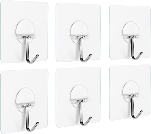 Birds Self Adhesive Hooks Strong Sticky Stick on Wall Door Hooks Home Decor ONE