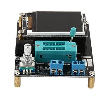 urninaueu Transistor Tester capacitancia ESR medidor de voltaje PWM cuadrada generador de señales SMT LCD gm328