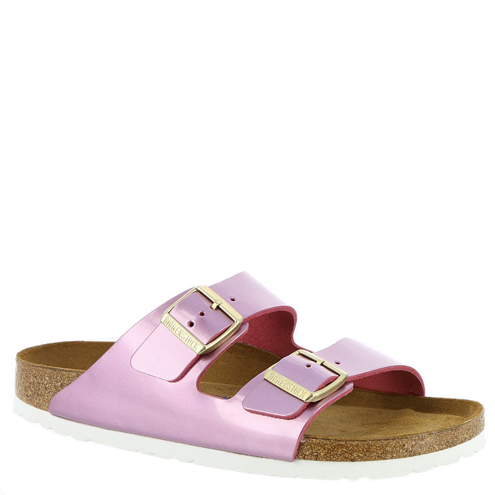 Birkenstock Arizona Rose Soft Footbed Leather Sandal 38 (US Women's 7-7.5)