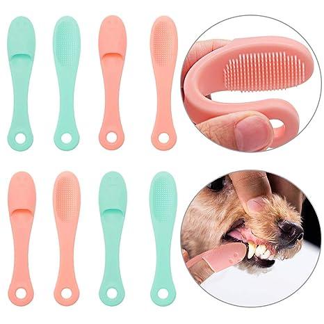 Amazon.com: Cepillo de dientes para perro, de SCENEREAL ...