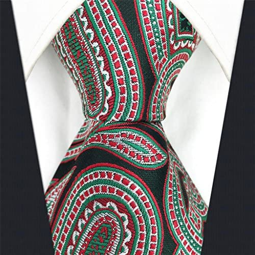 shlax&wing Cachemir Verde Rojo Corbatas Para Hombre Boda único ...