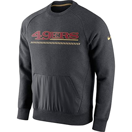 ca3929cb Amazon.com : San Francisco 49ers Nike Charcoal Championship Drive ...