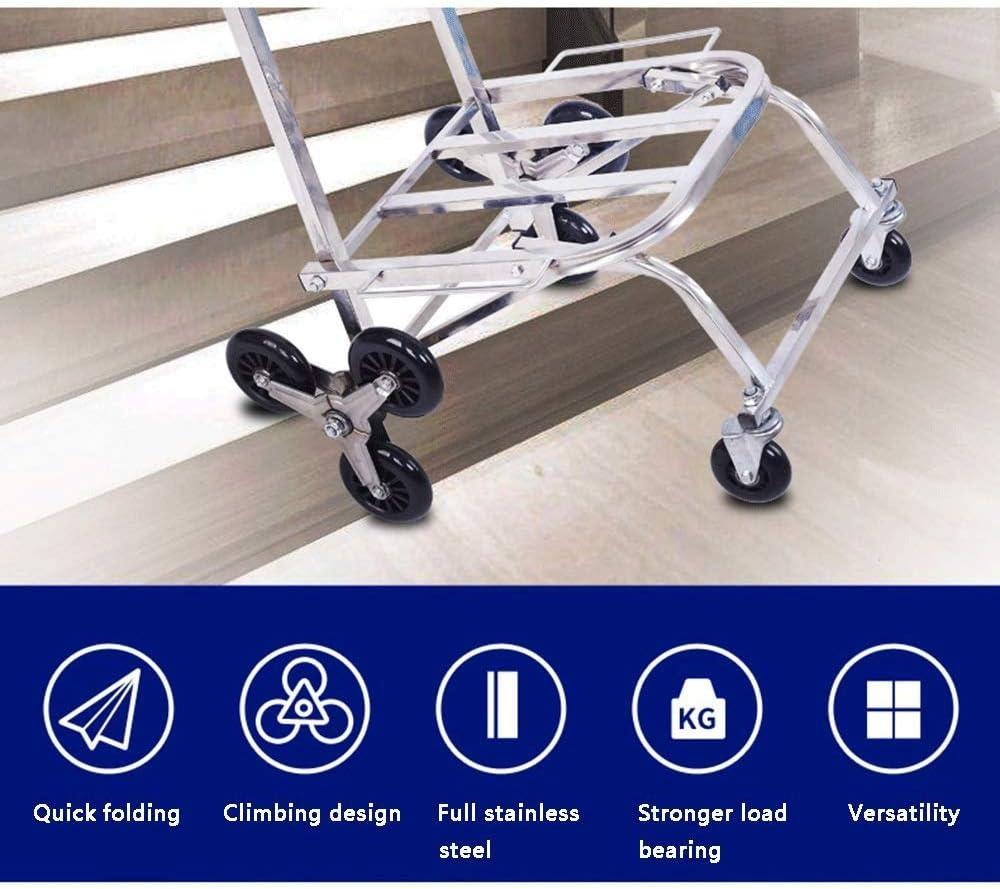 BTYAY Aluminum Folding Platform Truck Capacity with Adjustable Platform