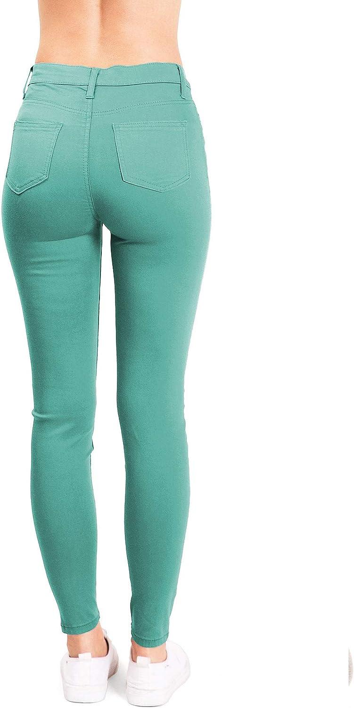 Amazon.com: Celebrity - Pantalones vaqueros ajustados para ...