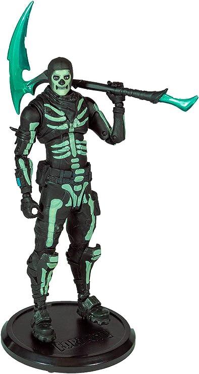Fortnite cráneo Trooper Figura de Acción Juguetes Mcfarlane En Stock