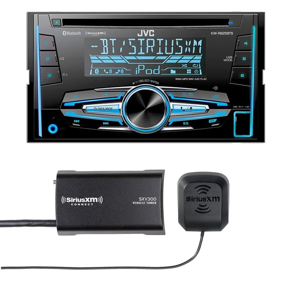 JVC KW-R920BTS Double DIN Bluetooth In-Dash Car Stereo, SiriusXM Tuner Included by JVC (Image #1)