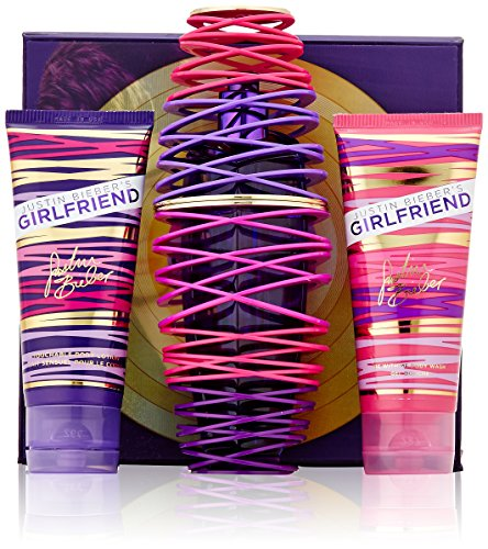 Justin Bieber Girlfriend Fragrance Set, 3 Count