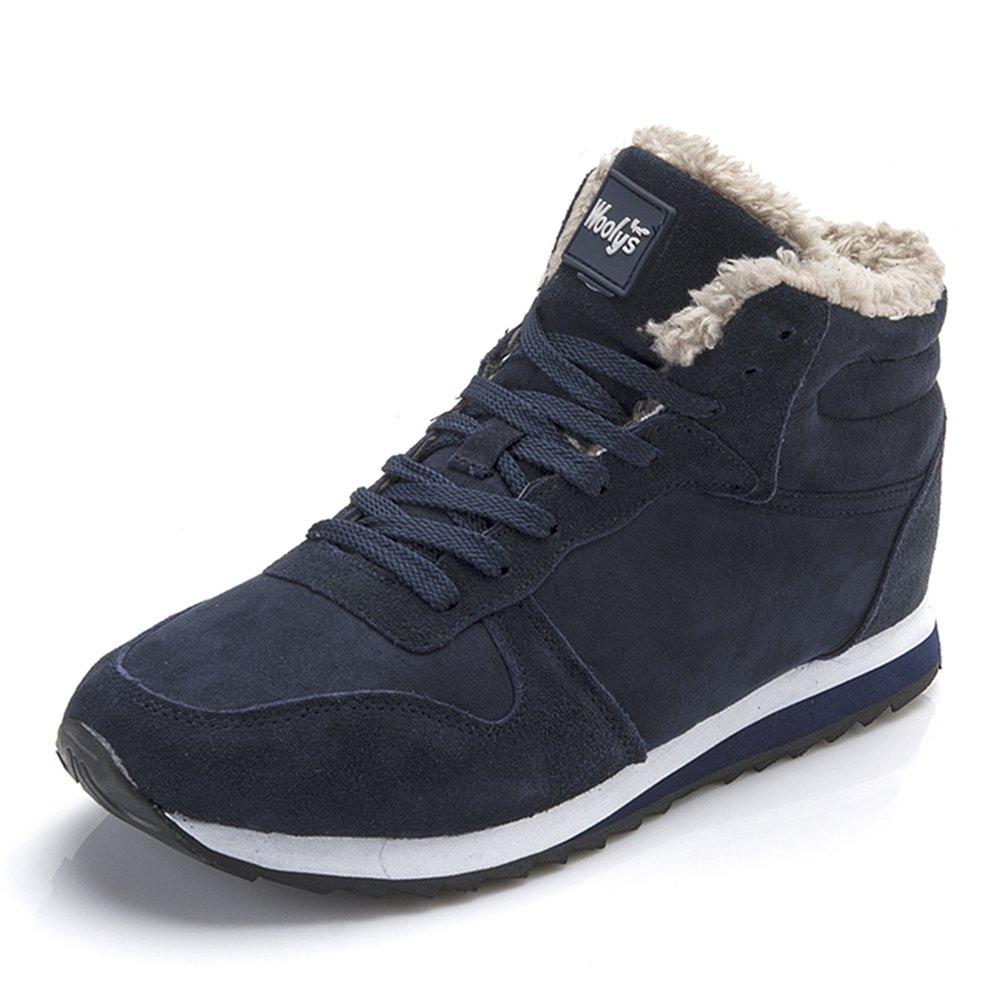 Chaussures Bottes Hiver De Neige Bleu Bottes Femme Noir Homme Boots Fourrees Bottines Mode Courts Avec Doublure Chaude Noir Bleu 35-46 Bleu 11c1b04 - epictionpvp.space