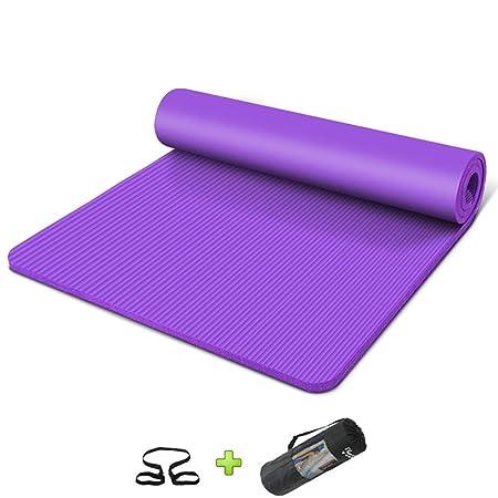 WZHIJUN Estera De Yoga 15mm Super Grueso Ensanchamiento ...