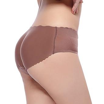 Aivtalk Mujer Chica Bragas Braguitas Acolchadas con Relleno de Culo Glúteo Embellecer Caderas Lucir Palmito Sexy Calzones Hip Enhancer Ropa interior: ...
