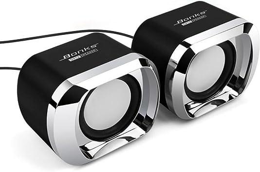 Docooler Altavoces de Mesa Mini Altavoces para PC Altavoces para ...