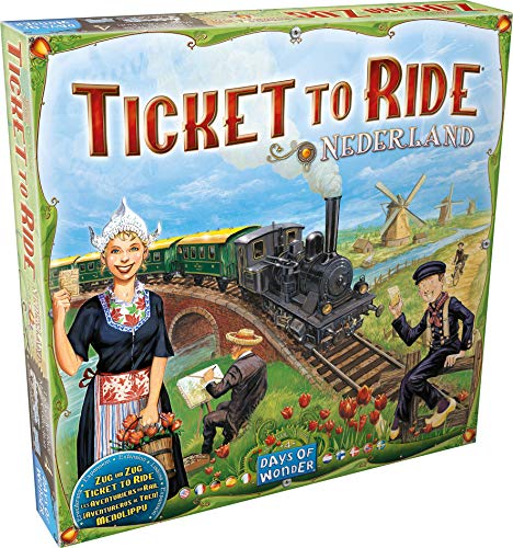 Days of Wonder Ticket to Ride: Map Collection Volume 4 - Nederland