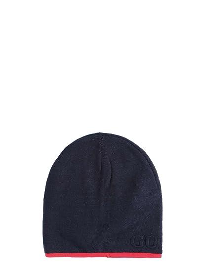 e1ab9da22a78 Guess - Bonnet - Homme Bleu bleu M  Amazon.fr  Vêtements et accessoires