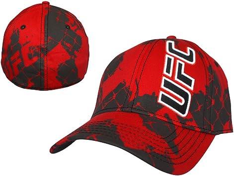 UFC - Gorra (talla única), diseño con logotipo, color rojo y negro ...