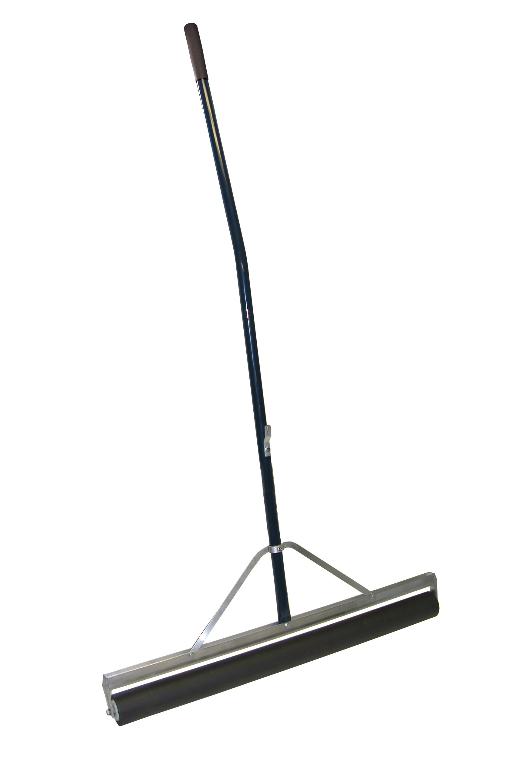 Midwest Rake S550 Professional Series Head Roller Squeegee with Cushion Gripped 60'' Ergonomic Powder-Coated Aluminum Handle, with Replacement Roller (Various Sizes: 24'' to 48'')