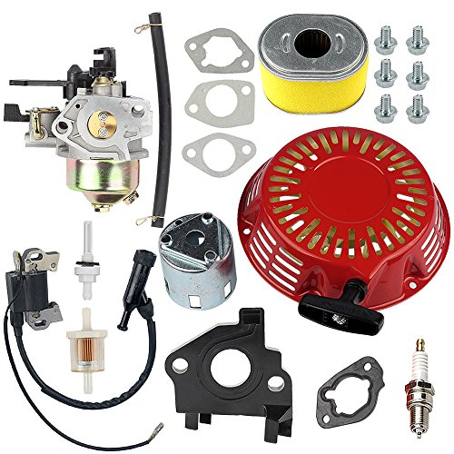 HIPA Carburetor Recoil Starter Assembly for Honda GX240 8HP GX270 9HP Engine 270cc Water Pump 16100-ZH9-W21 (Honda Gx240 Carburetor)