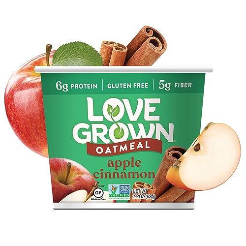 Love Grown Apple Cinnamon Oatmeal