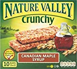 Nature Valley Crunchy Granola Bars - Canadian Maple Syrup (5x42g) - Pack of 6