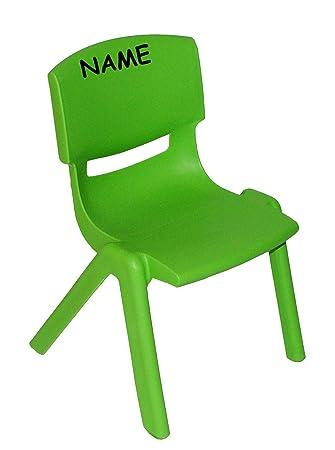 Kinder Plastikstuhl plastik stuhl excellent stuhl fr kinder grn incl namen fr innen u