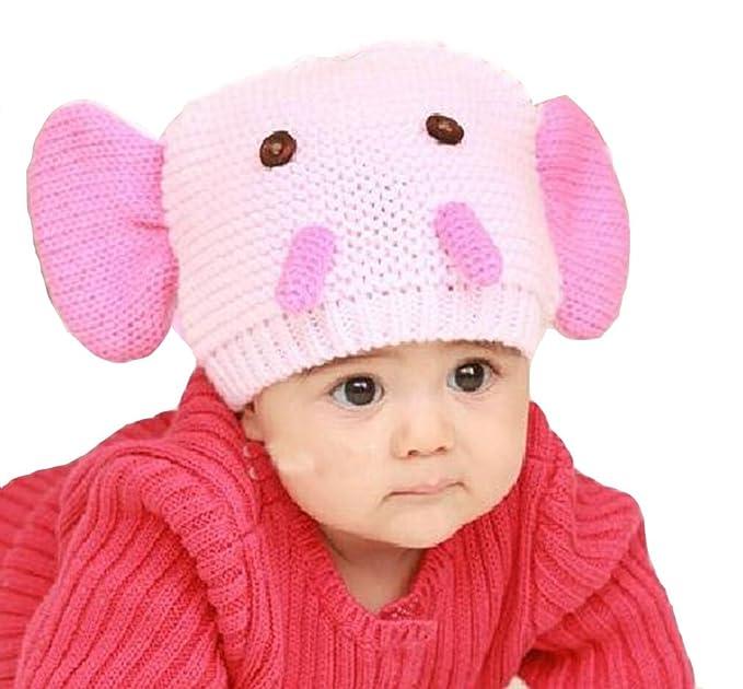 Demarkt Süß Elefanten-Ohren Design Pattern Muster gehäkelt Wolle ...
