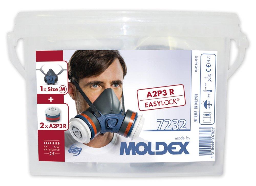 Moldex 7232 Respiratory box Series 7000 A2P3 R, Medium