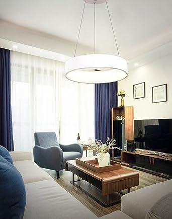30W LED Pendelleuchte Modern Ringe Design Lampe Innen Beleuchtung ...