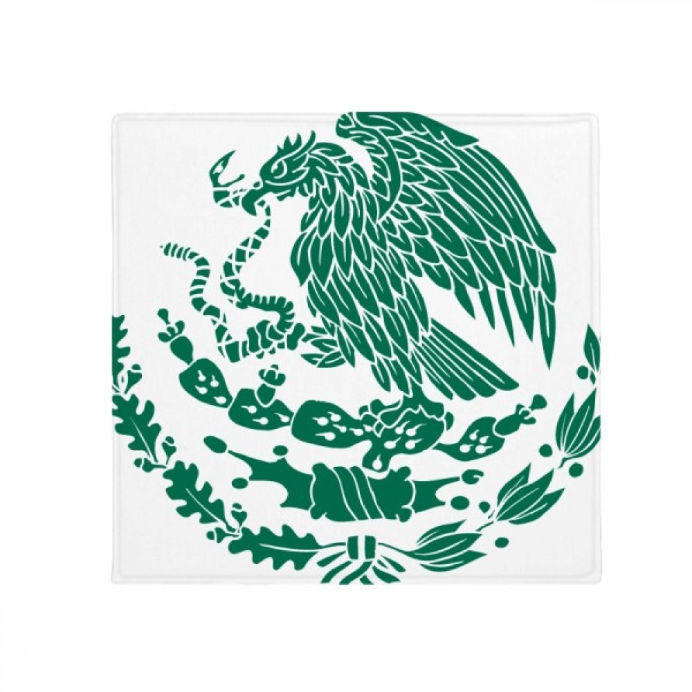 DIYthinker Mexico National Emblem Country Anti-Slip Floor Pet Mat Square Home Kitchen Door 80Cm Gift