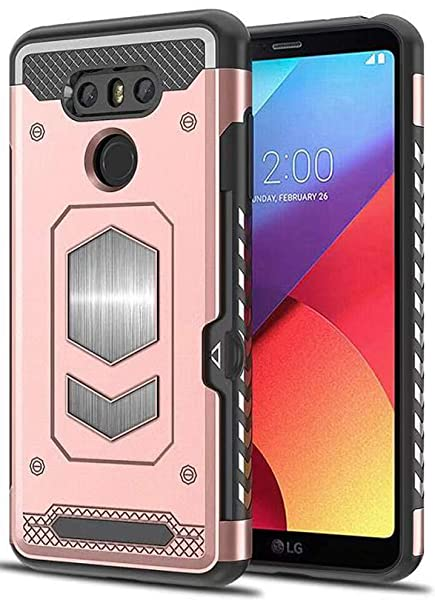 LG G6 Funda, Boost [LG G6 Slide Back Wallet Case] Funda ...