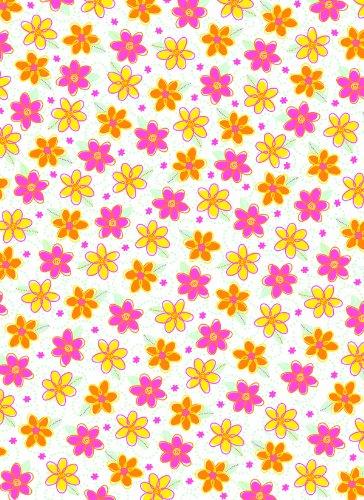 Wilton Random Floral Sugar Sheet