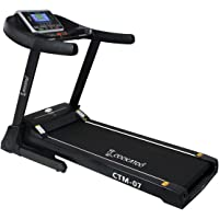 Cockatoo CTM-07 Steel 3 HP Motorised Multi-Function Treadmill with Auto-Incline(Free Instalation Assistance)