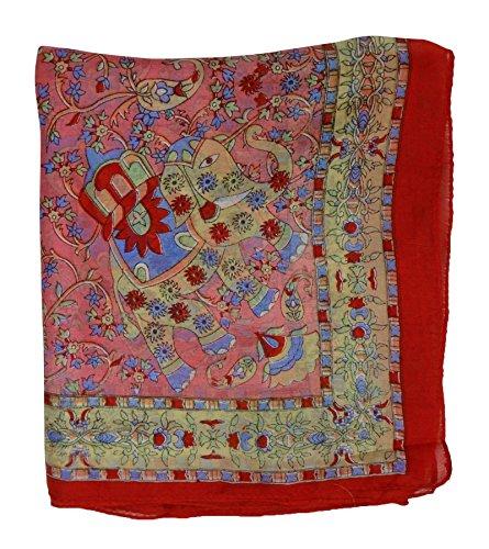 impresa de bufanda Aboutyou seda rob suave abrigo moda verano mujer twqUgA