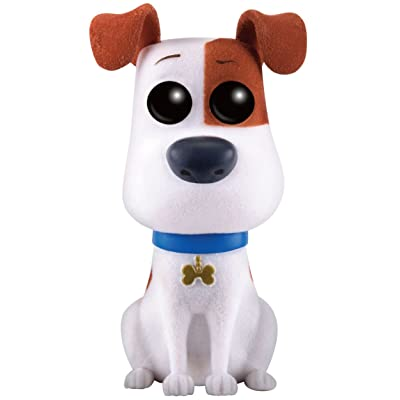 Funko Pop The Secret Life of Pets Flocked Max Exclusive Vinyl Figure: Toys & Games