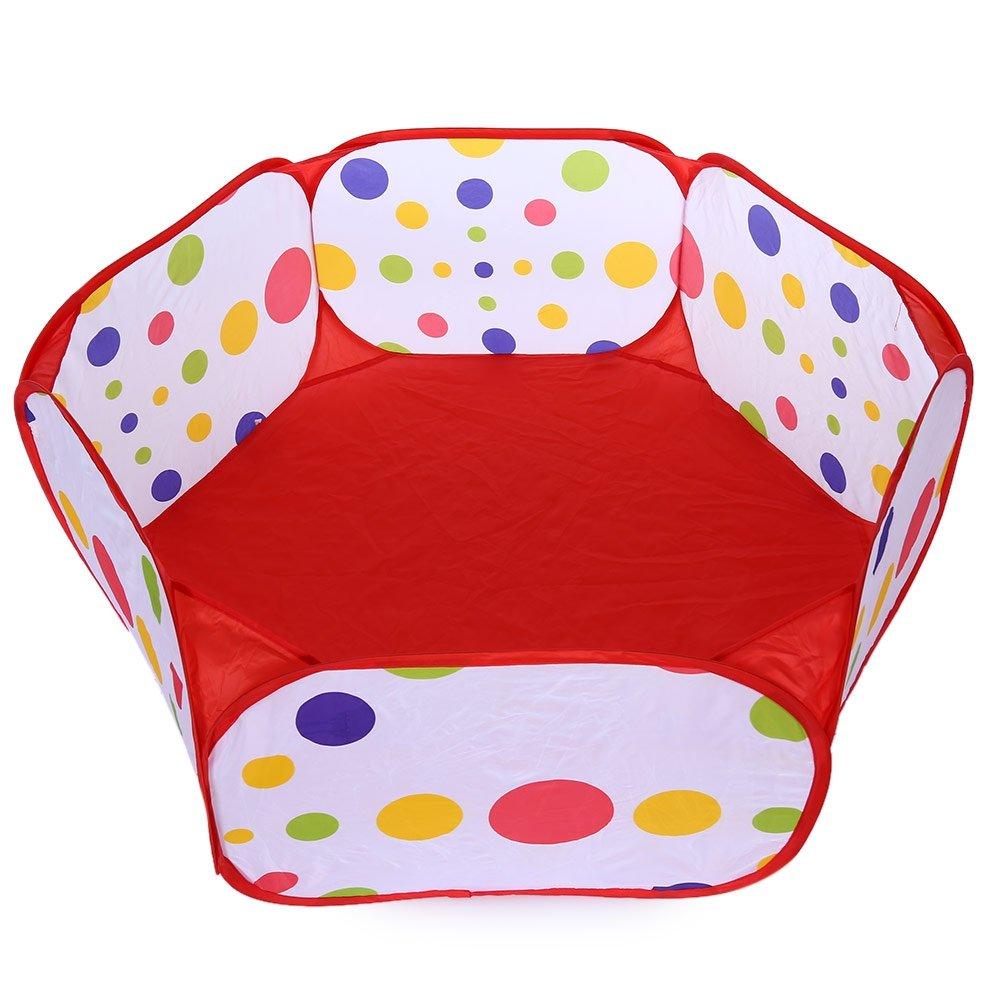 Children Folding Ocean Ball Pit Holder Portable Outdoor Indoor Toy Tent Playhut Beautyer