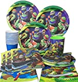 Teenage Mutant Ninja Turtles Birthday Party Plates Napkins Cups Decorations for 12