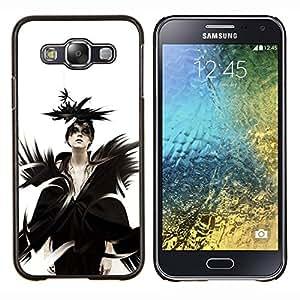 EJOOY---Cubierta de la caja de protección para la piel dura ** Samsung Galaxy E5 E500 ** --Goth Señora Reina