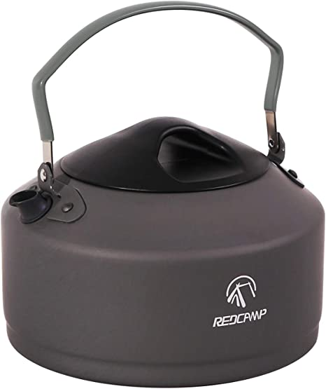 REDCAMP 0.9L Small Camping Kettle