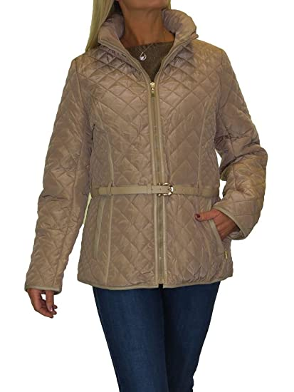 Icecoolfashion Ice Plus Size Quilted Jacket Hood