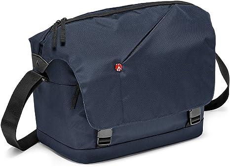 Manfrotto Messenger NX - Bolsa para cámara, azul: Amazon.es ...
