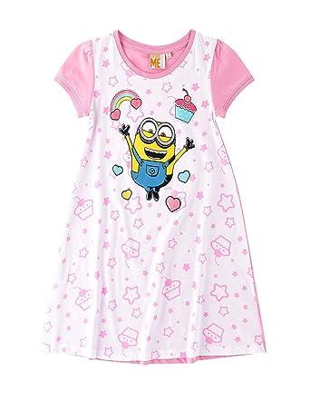 new styles 2e572 4e252 les minions les minions Mädchen Nachthemd Nachthemden ...