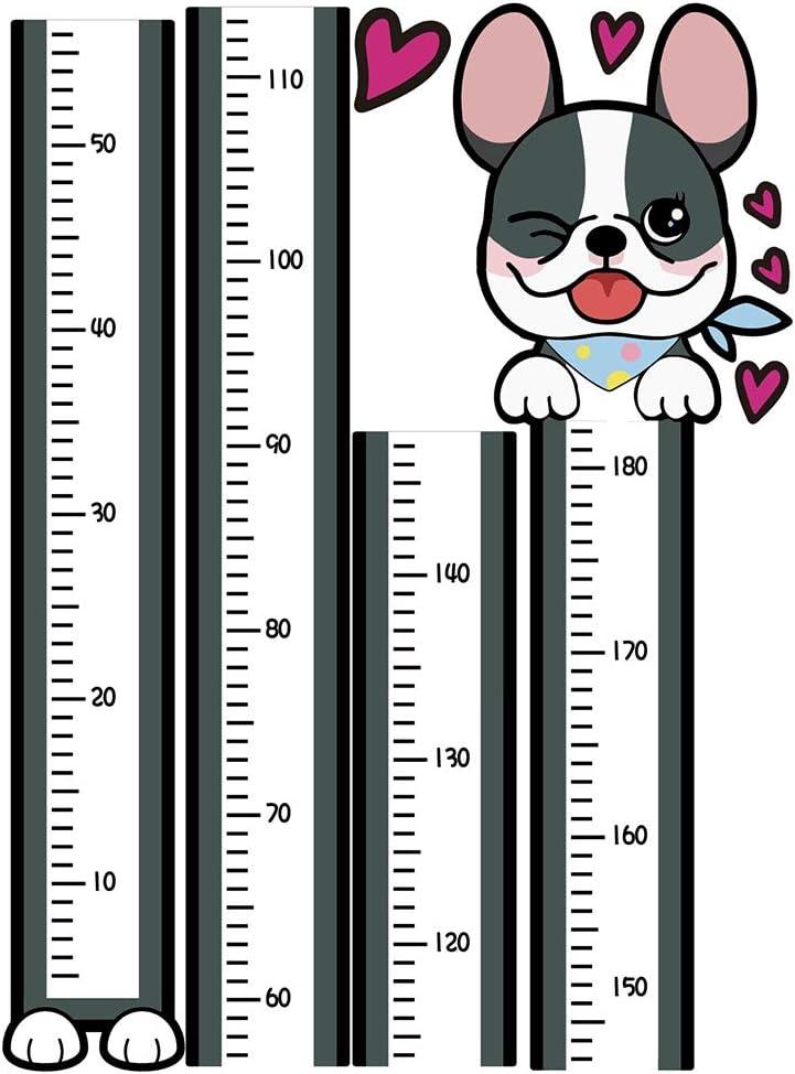 Cartoon Height Measuring Sticker CJMING Height Ruler Kids Room Decoration Growth Chart Animal Height Ruler Cute Wall Decor