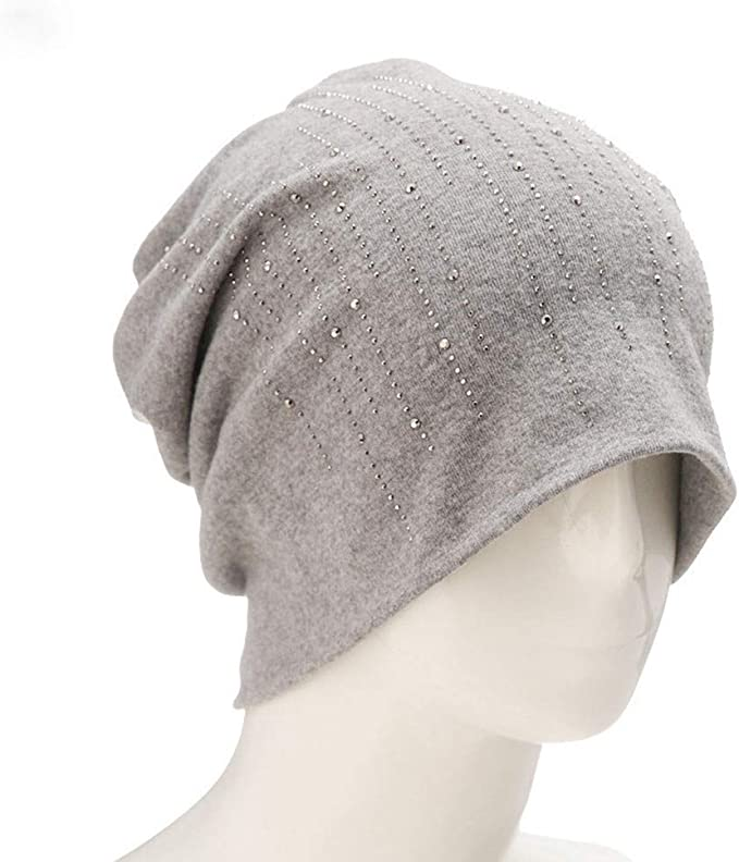 Easytoy Beanie Hat for Men and Women Winter Warm Hats Knit Slouchy Thick Skull Cap