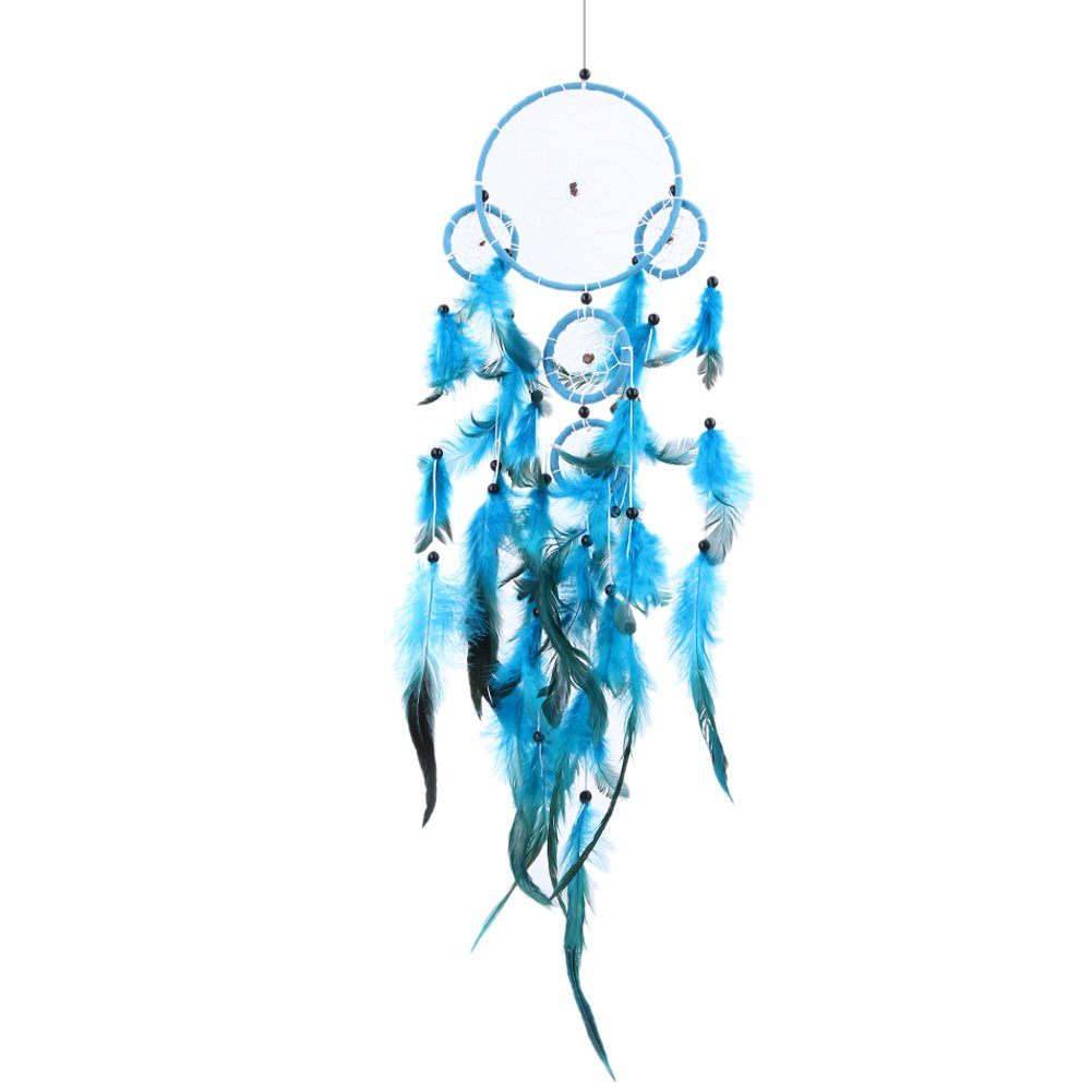 Sunsoar Blue Dream Catcher Wall Hanging Home Car Decor Craft