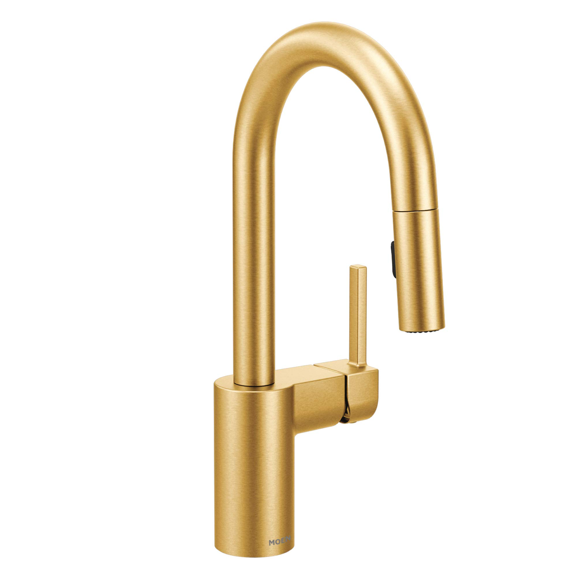 Moen 5965BG Single Handle Pullout Spray Bar Faucet with Reflex Technology from the Align Collection