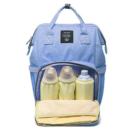 cuddty bolsa de pañales Nappy Bolsa Mochila de viaje impermeable multifunción mamá bolsa para el cuidado