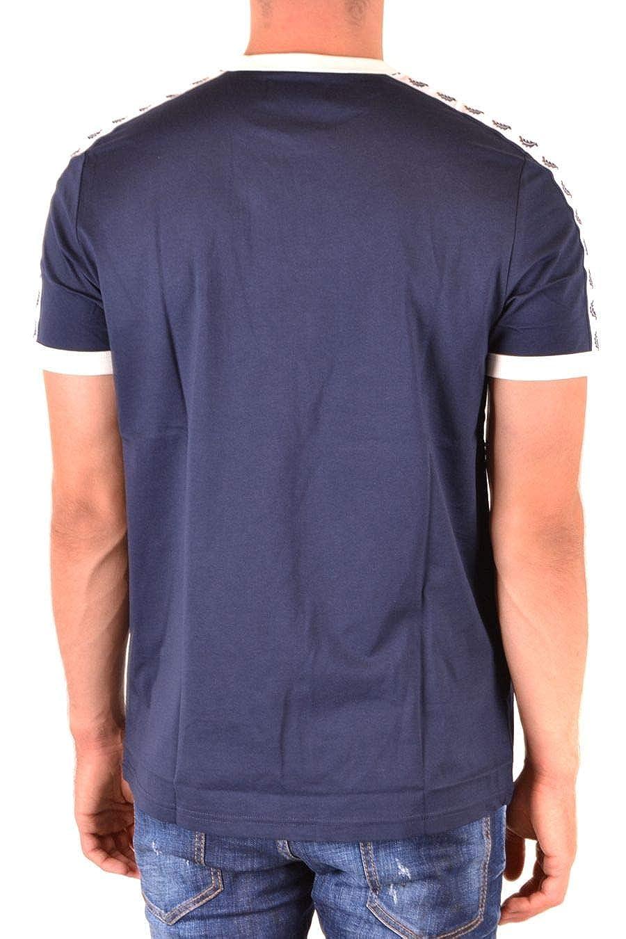 Fred Perry Luxury Fashion Hombre FPM634730584 Azul T-Shirt   Otoño ...