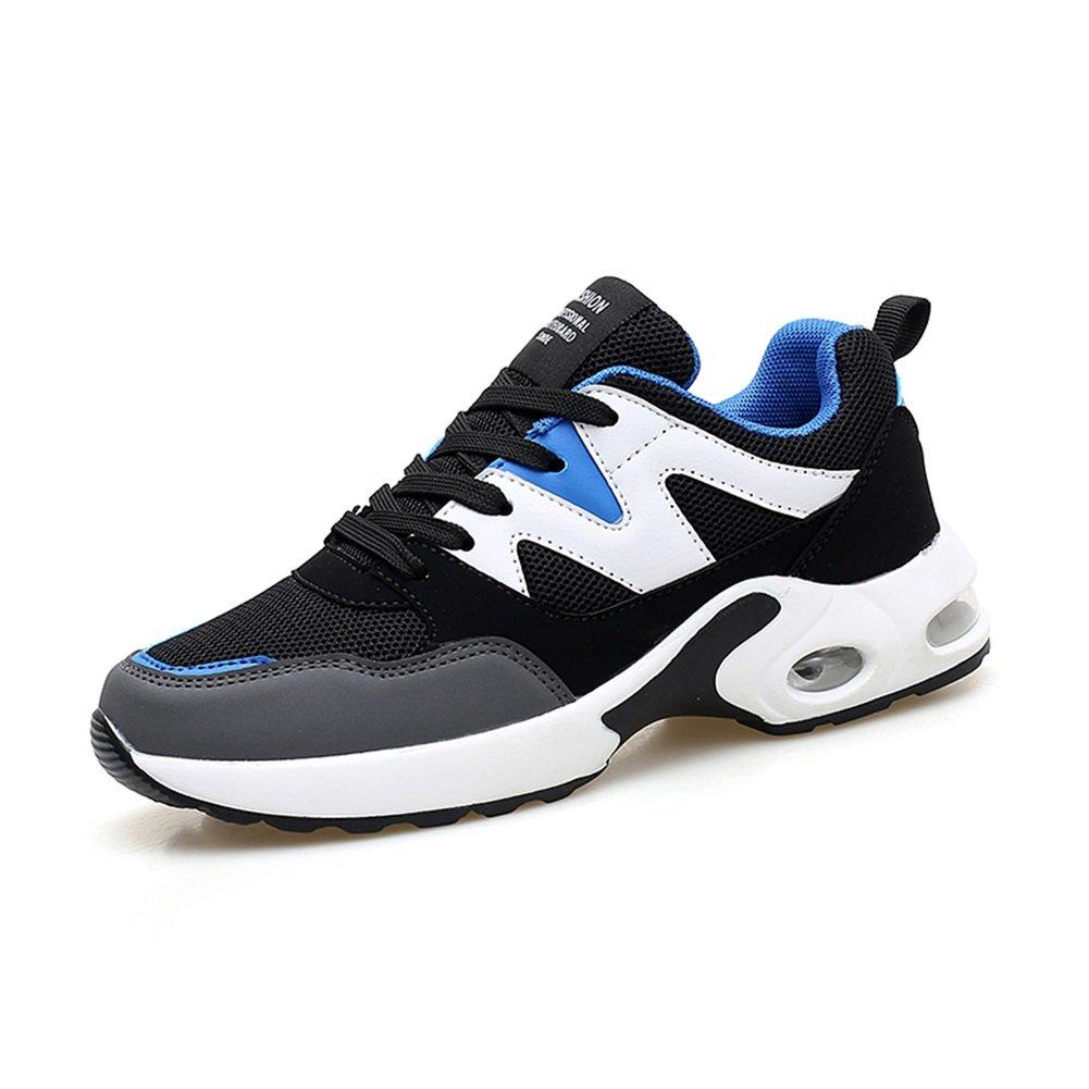 Zapatos de Sacudida Casuales de Las Mujeres Zapatillas de Deporte Que absorben el Aire Correr Jogging Gym Fitness Movimiento Malla Zapatos Casuales (Color : Azul, Tamaño : 38) 38|Azul