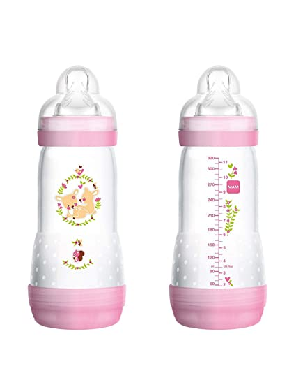 Biberón Anticólico 4+ meses Easy star MAM 320ML (Colores variados)