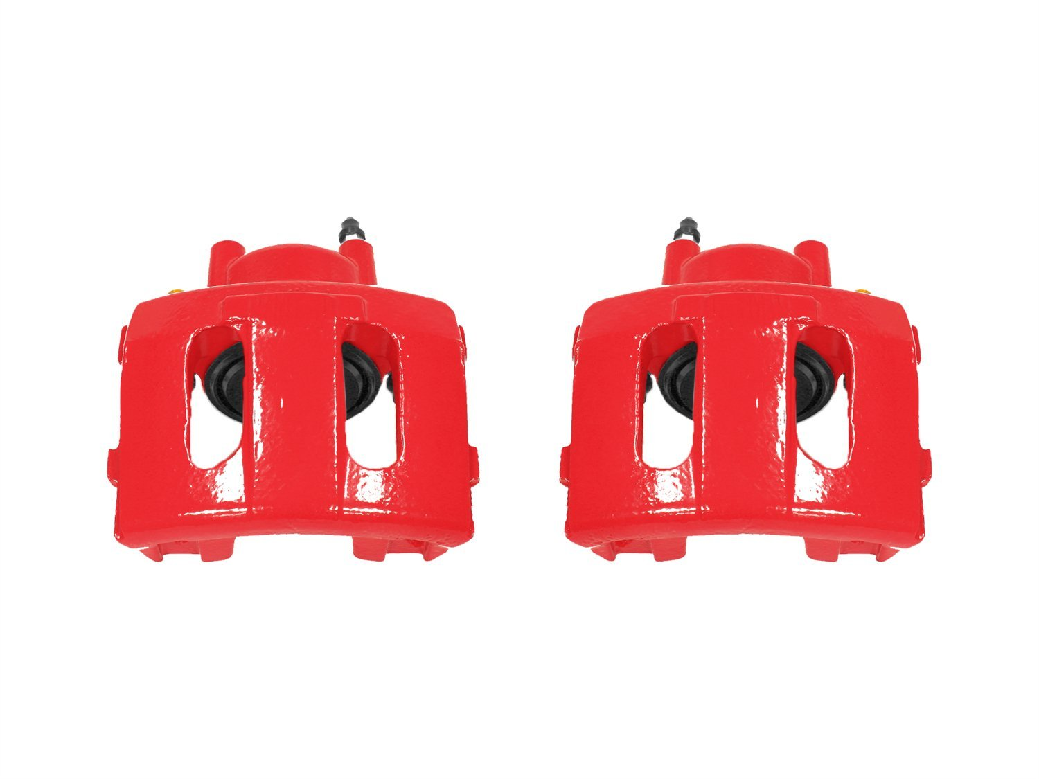 Power Stop S4339 Red Powder-Coated Performance Caliper