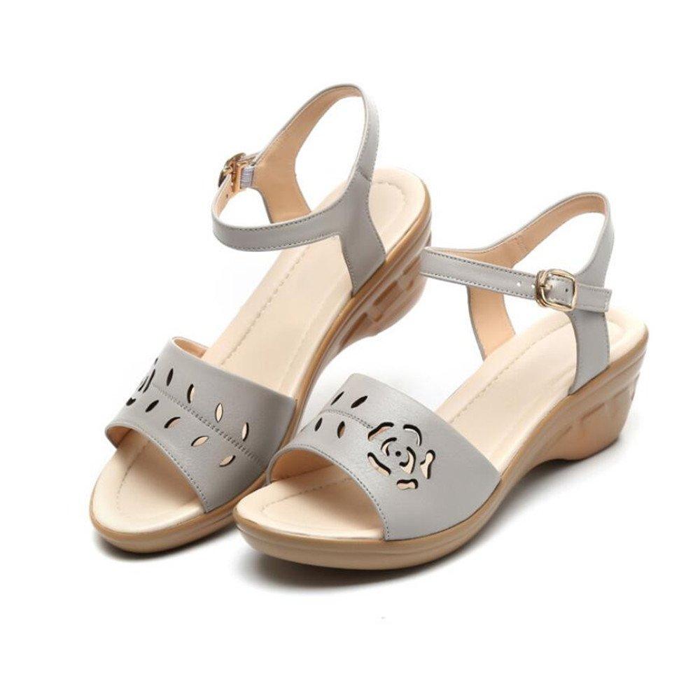 Frau Sommer Schuhe Sandalen Schuhe Sommer Mit Der Unterseite des Schuhs de6ba6